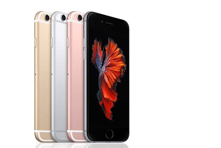 16GB or 64GB iPhone 6s – 4 Colours! from £229.00