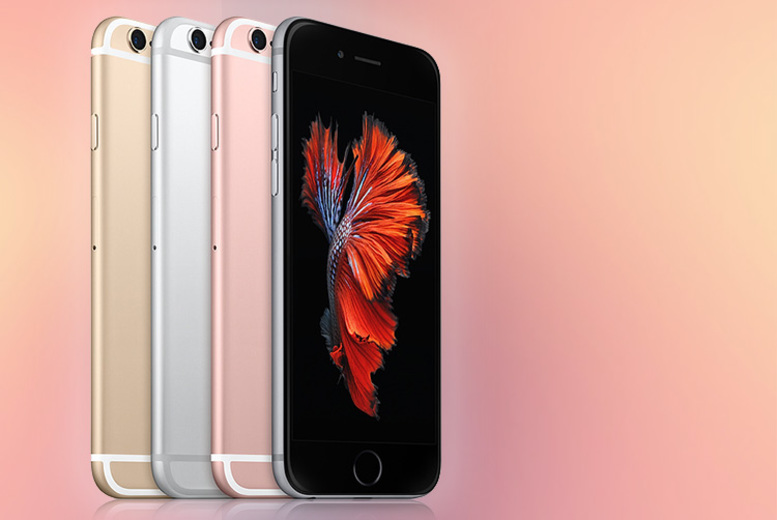16GB or 64GB Apple iPhone 6s – 4 Colours!