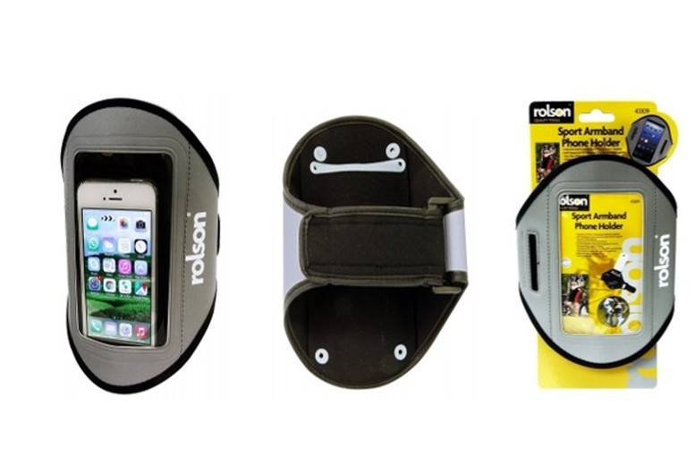 Rolson Sports Armband Phone Holder for £5.49