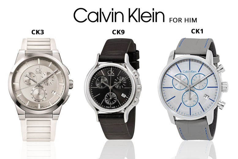 His & Hers Calvin Klein Watches - 25 Designs!