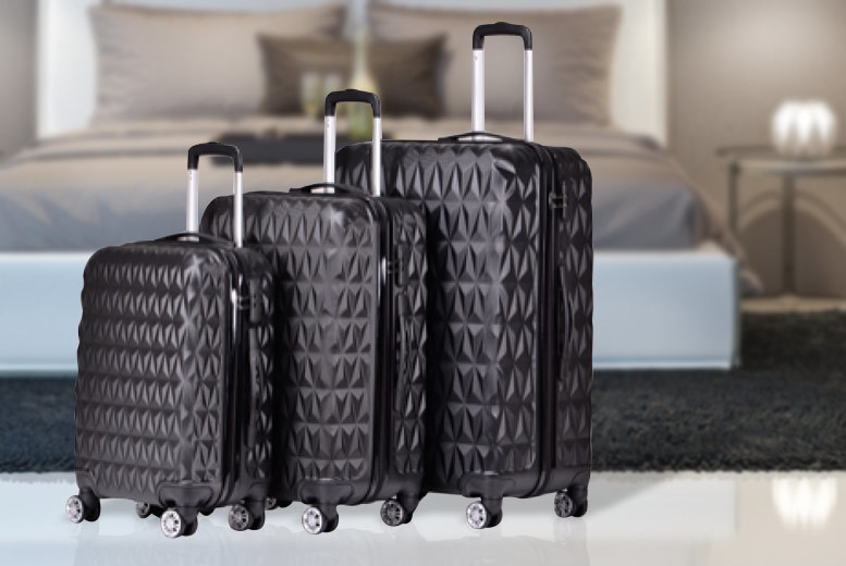 3pc Luggage Set – 2 Colours! for £79.00