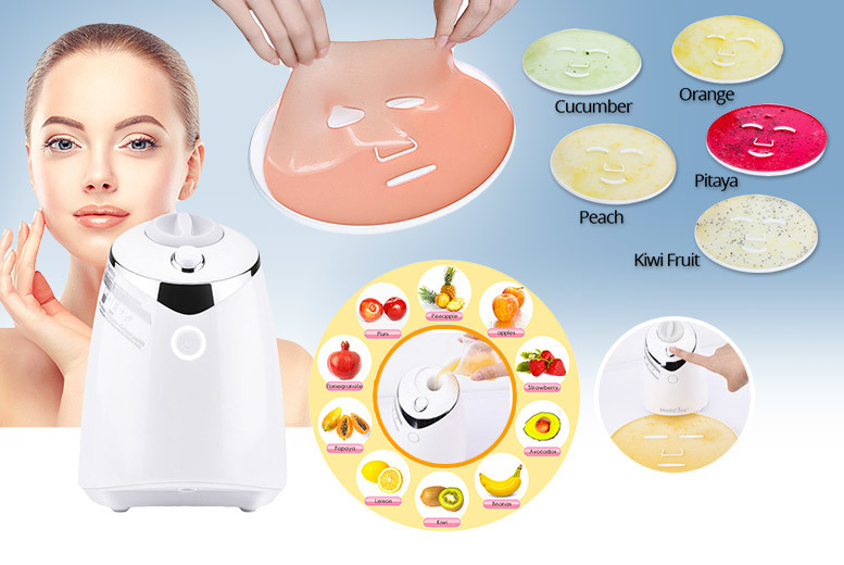 DIY Natural Fruit & Veg Face Mask Machine for £49.00