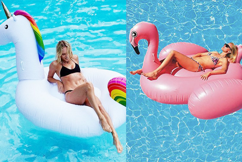 Image of From £19 (from Pilot Imports) for a giant pool inflatable - save up to 62%