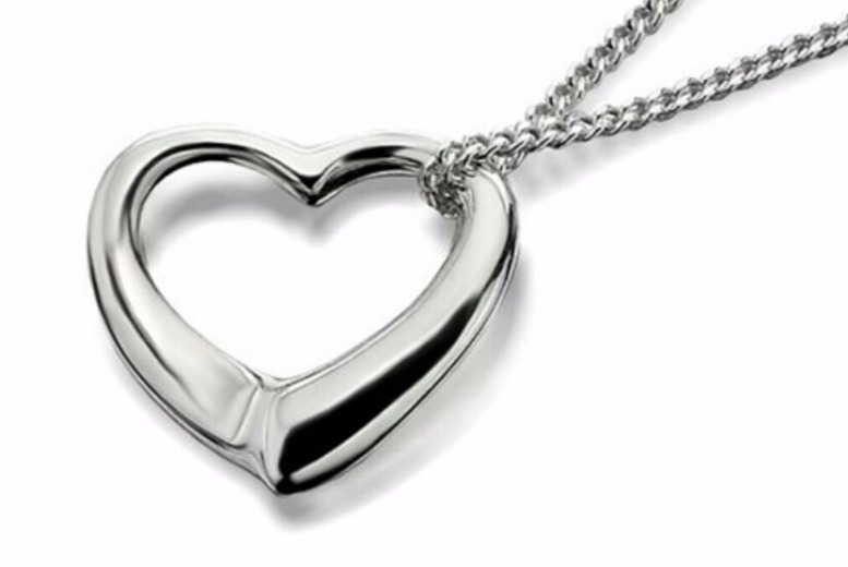 Delicate Heart Pendant for £4.99