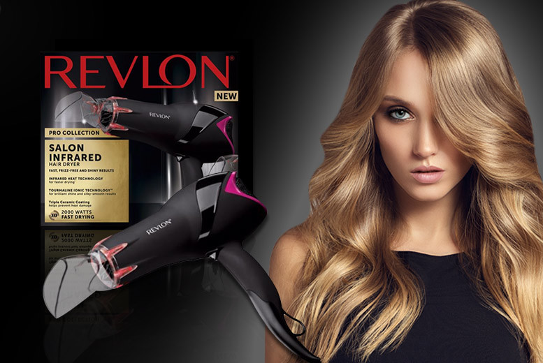 Revlon Pro Collection Infrared Hairdryer for £19.99