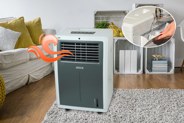 Jocca 4-in-1 Portable Air Heater, Cooler & Humidifier for £79.00