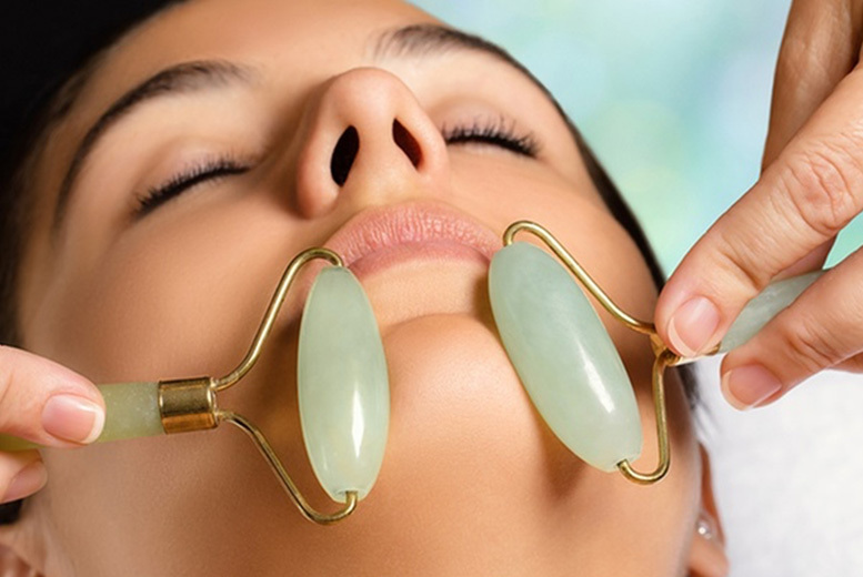 Jade-Inspired Facial Massage Roller Stick – 1 or 2! from £3.99