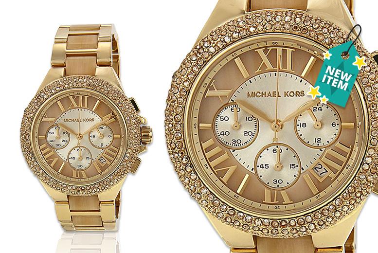 Ladies' Michael Kors MK5902 Chronograph Quartz Watch