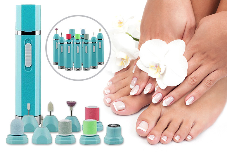 Cordless 9-in-1 Professional Manicure & Pedicure Kit for £12.99