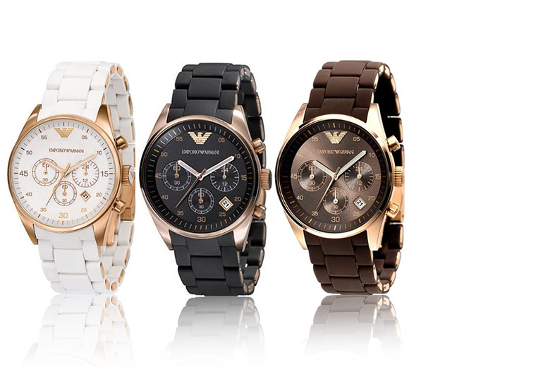 £119 instead of £342.01 (from Gray Kingdom) for a ladies' Armani watch - choose from three styles and save 66%