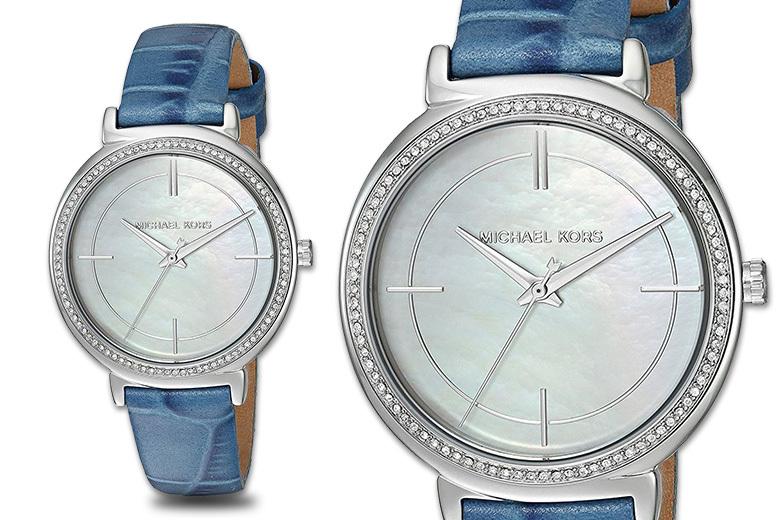 Michael Kors MK2661 Blue Strap Stainless Steel Women's Watch