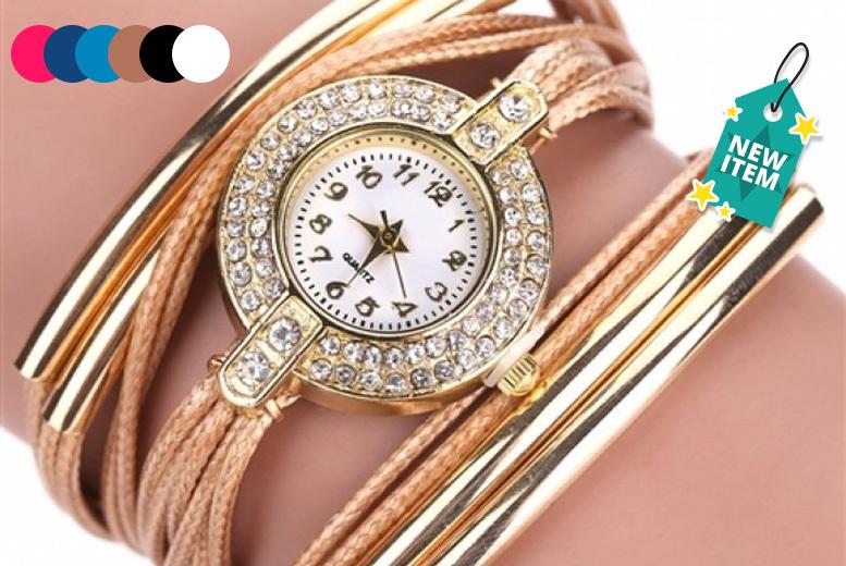 'Riley' Wrap Watches - 6 Designs!