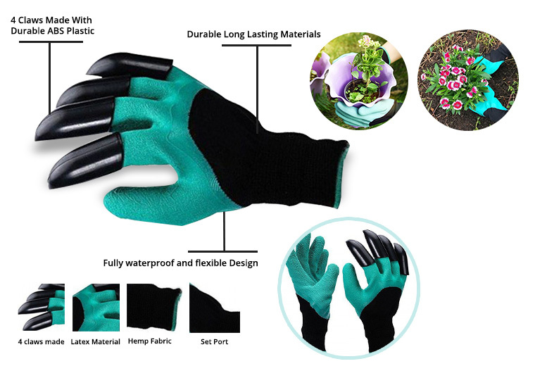 Claw Garden Digging Gloves for £3.99