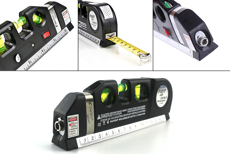 3-in-1 Laser Distance Measuring Tool for £7.99