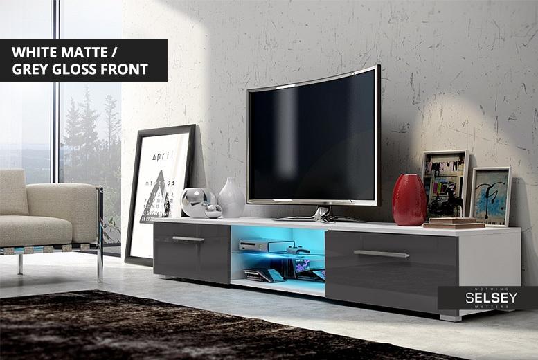 Edith LED TV Storage Unit – 5 Designs! for £89.00
