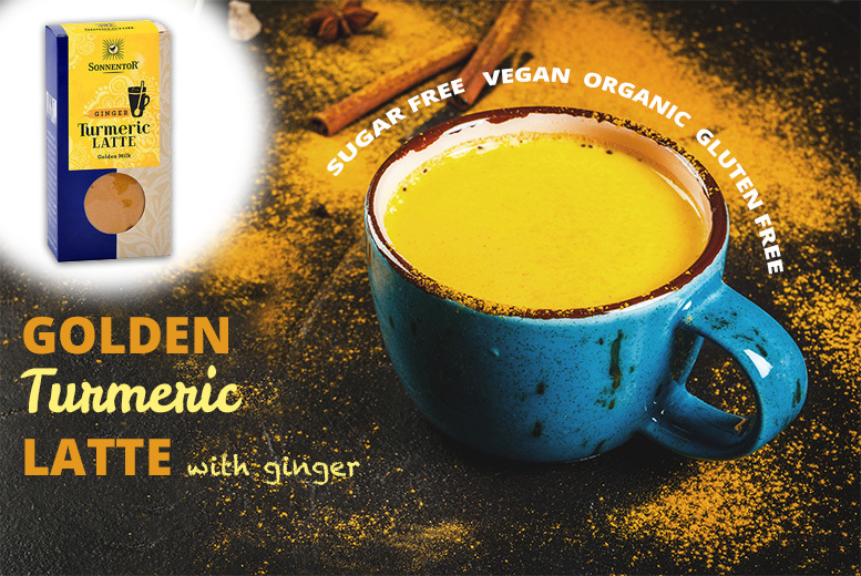 60g Golden Turmeric Latte with Ginger – 30, 60 or 90 Servings! from £8.00