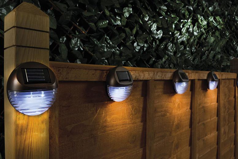 Solar Fence Lights - 2, 4 or 6!