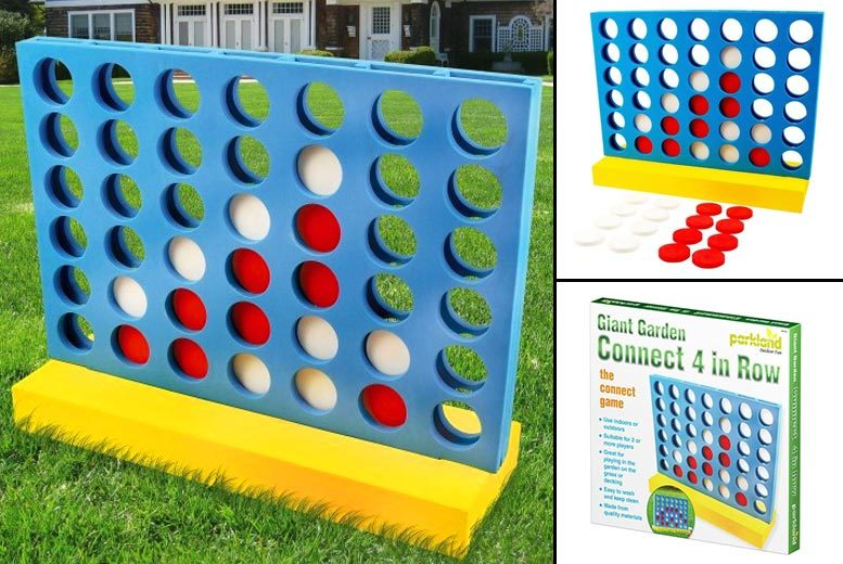 Giant Foam Outdoor Connect-4 for £9.99