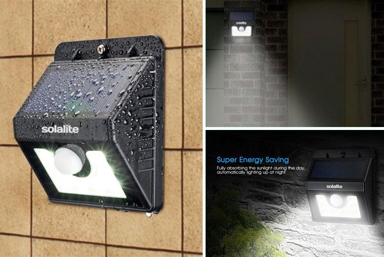 8SMD Solar Motion Sensor Light – 2 Options! from £8.99