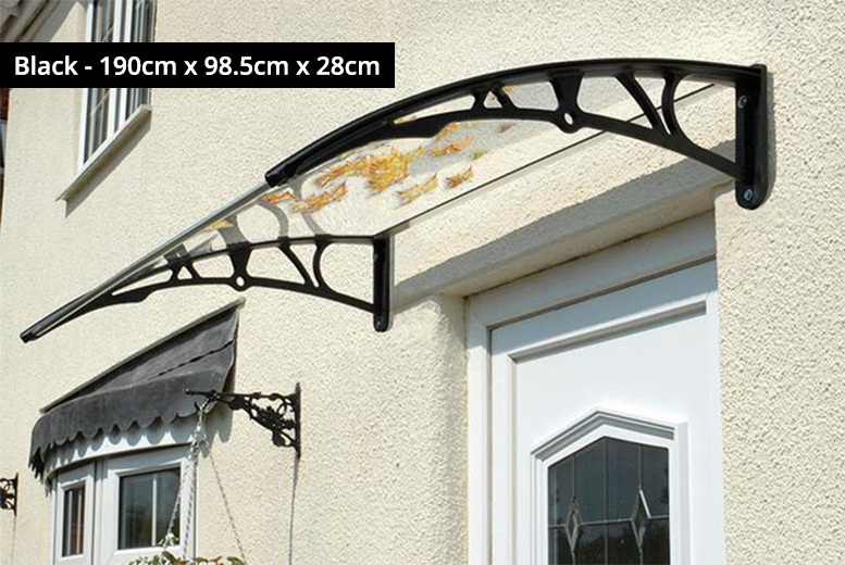 120x75cm Door Canopy – 2 Colours! for £24.00