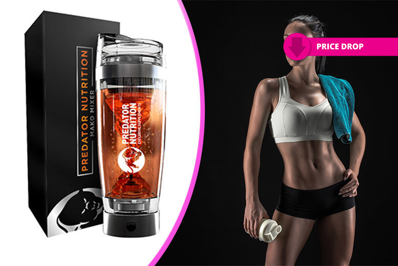 All-in-1 Electric Vortex Mixer & Gym Shaker for £16.99