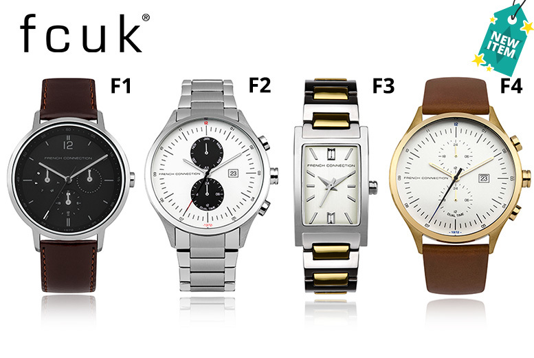 FCUK Watch – 19 Designs from £19.00