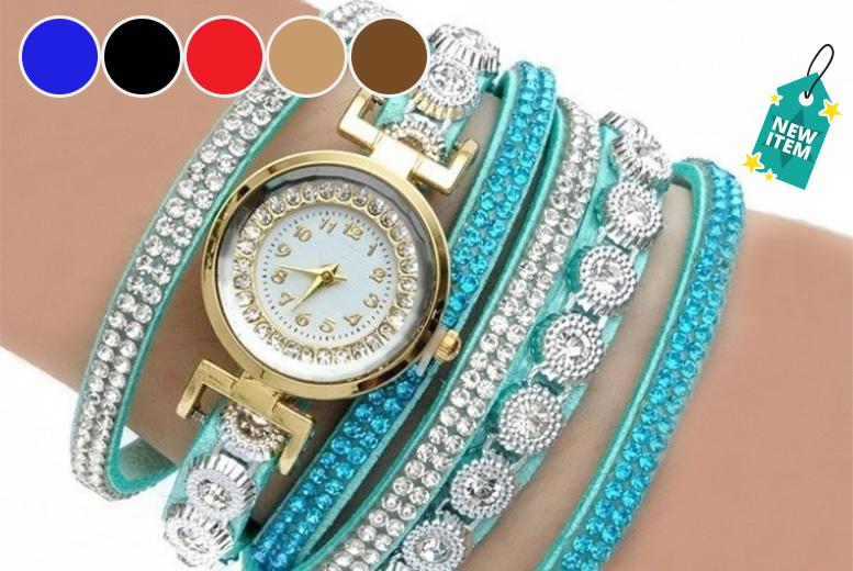 Ashlyn Wrap Watch - 7 Colours!