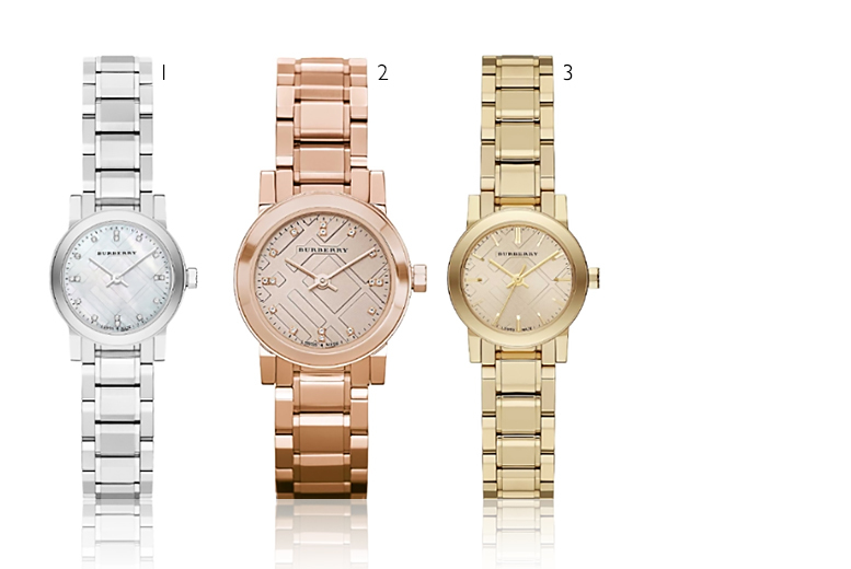 £169 instead of £599 (from Gray Kingdom) for a Burberry watch - choose from three styles and save 72%