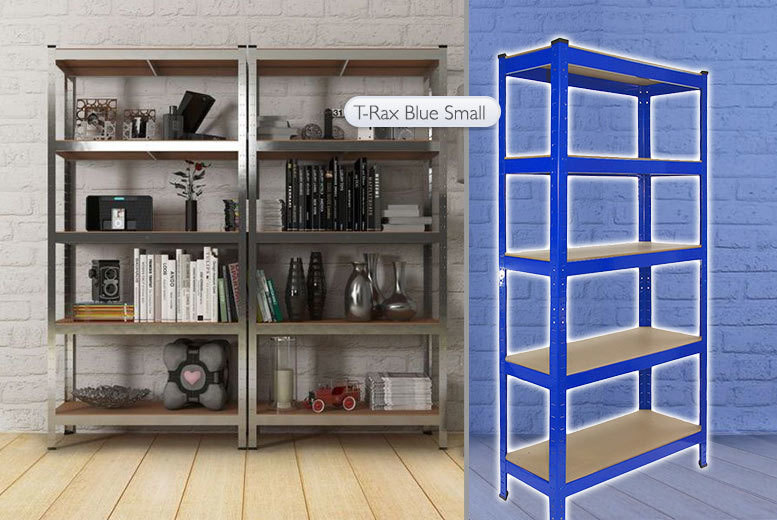£22 instead of £191 (from Monster Shop) for T-Rax heavy-duty racking, or £36 for two Galwix units - choose from two different designs and save up to 88%