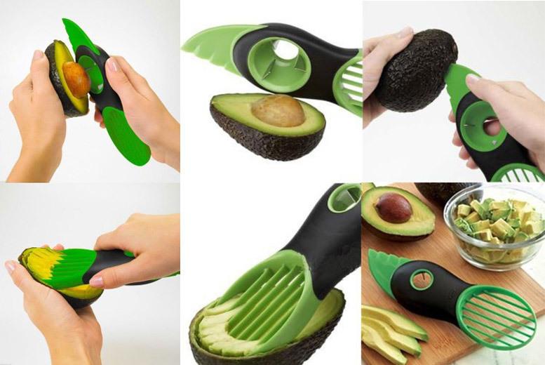 3 in 1 avocado cutter