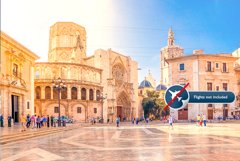 £99pp for a six-night Spanish course in Valencia with a shared room, cooking class, breakfast and salsa class or £159pp for a private room - save up to 65%