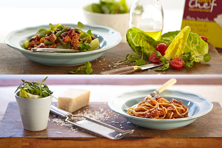 From £69 for a one-month Diet Chef plan hamper including breakfast, lunch, dinner and a snack each day with no subscription - save up to 52%