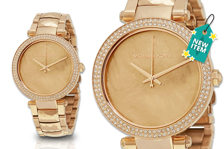 Michael Kors MK6426 Gold Ladies Watch for £129.00