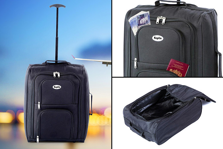Wheeled Cabin-Approved Luggage for £9.99
