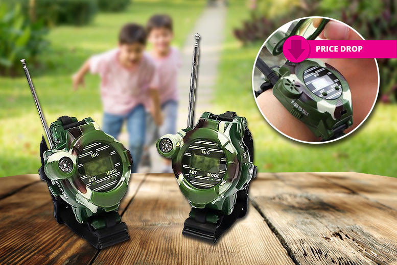 Two Walkie-Talkie Watches