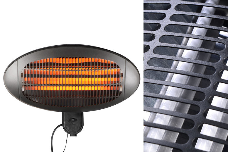 Electric Patio Heater – 2 Styles! from £21.00