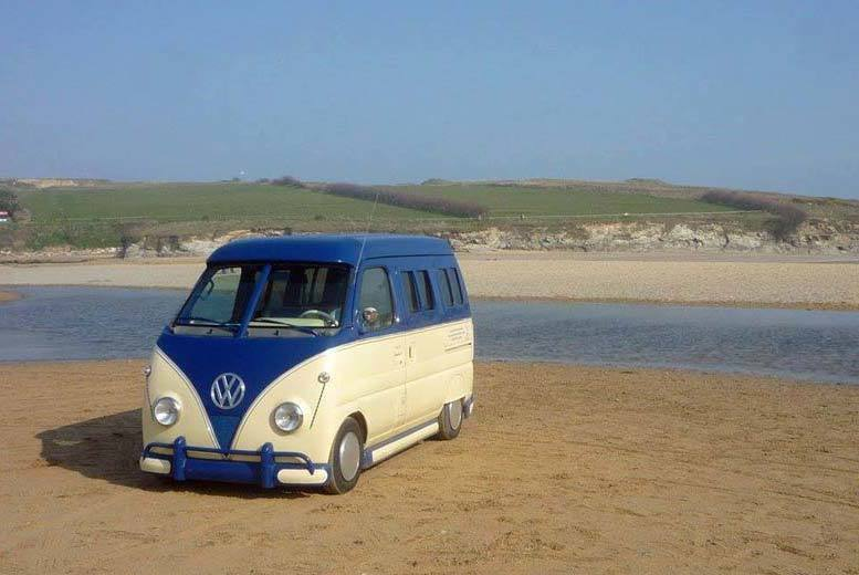 £85 instead of £155 for a minidub campervan hire for one night for two people, £149 for two nights, £219 for three nights from Kernow Kampers - save up to 45%