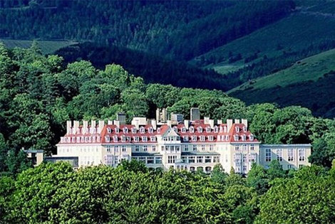 £79 (from Buyagift) for a 4* overnight stay for two people with breakfast at The Peebles Hydro Hotel, Scottish Borders