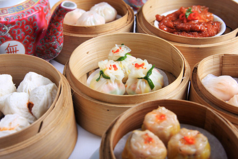 £28 instead of up to £61.60 for a dim sum meal for 2 inc. 6 sharing dishes & a glass of wine each at Shanghai Blues, Holborn - save up to 55%