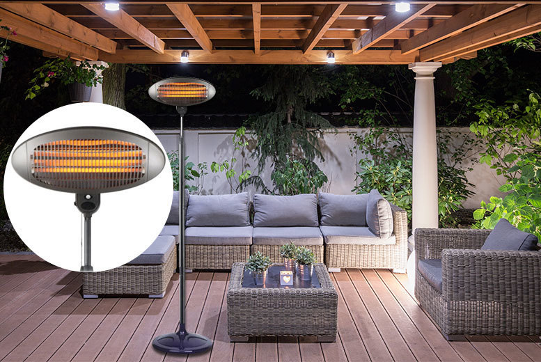 2kW Outdoor Electric Patio Heater for £34.00