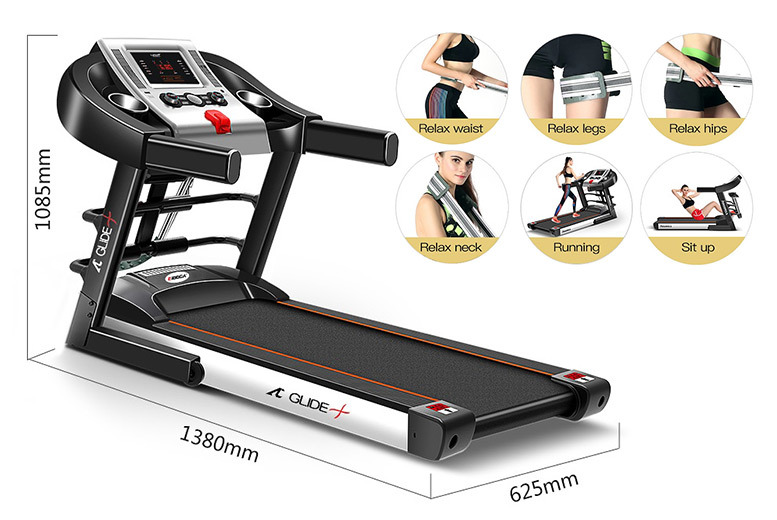 E-Glide folding Treadmill - 2 Options!