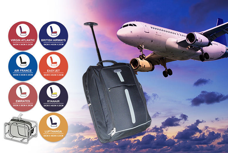 Lightweight Cabin-Approved Luggage for £9.99