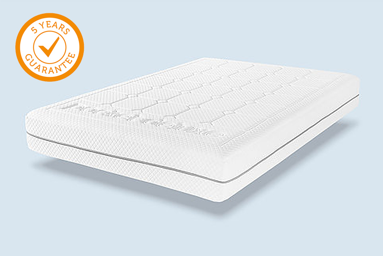 1000 Pocket Sprung Quilted Anti-Allergy Mattress with 5-Year Guarantee