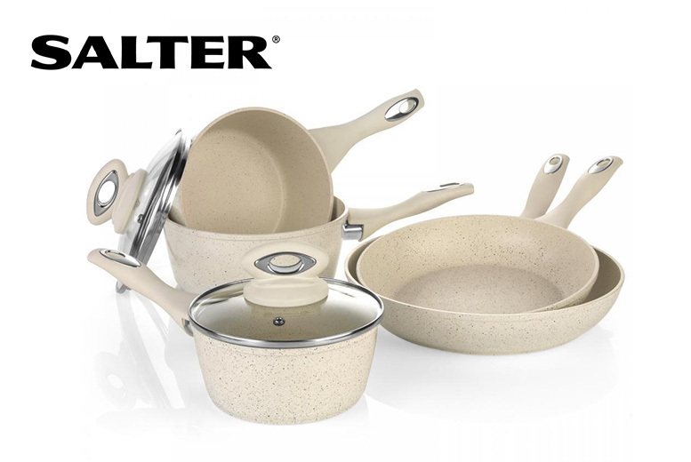 Salter 8pc Induction Pan Set for £42.99