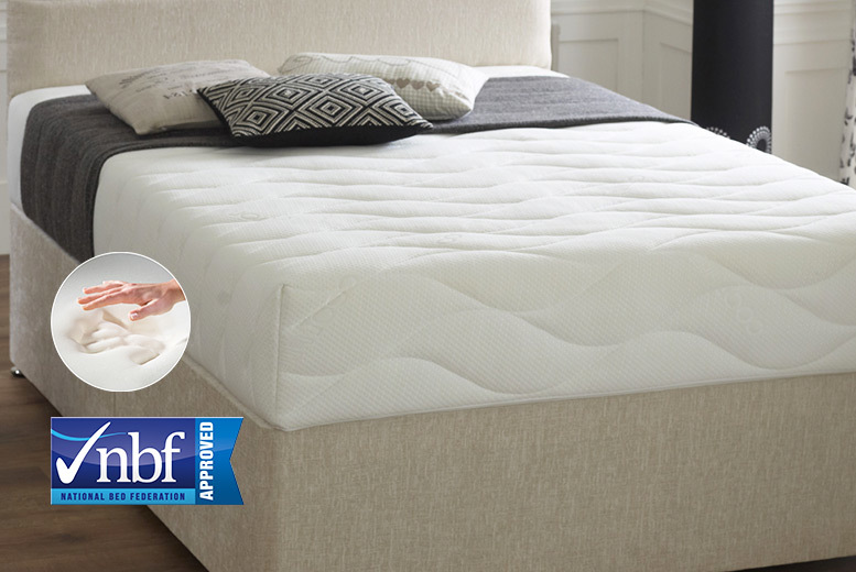 Extra-thick Quilted Coolmax Memory Foam Mattress