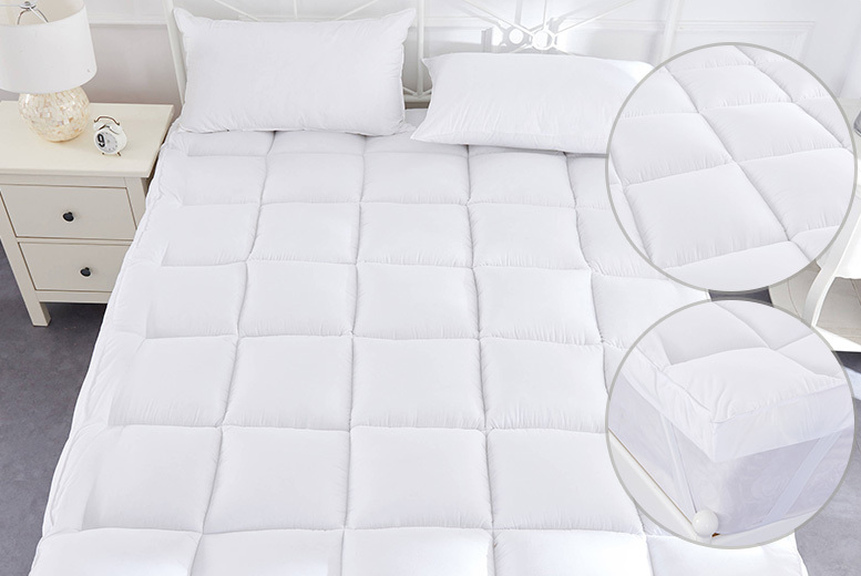 5cm Duck Feather & Down Mattress Topper from £17.99