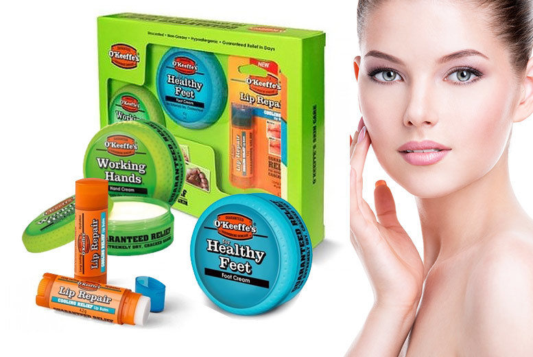 O'Keeffe's Hardworking Skin Gift Set for £14.99