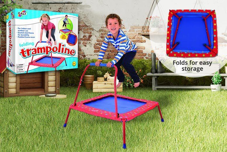 Kids' Folding Indoor & Outdoor GALT Trampoline