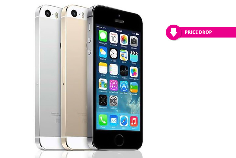16 or 32GB Apple iPhone 5s - Gold, Space Grey or Silver!