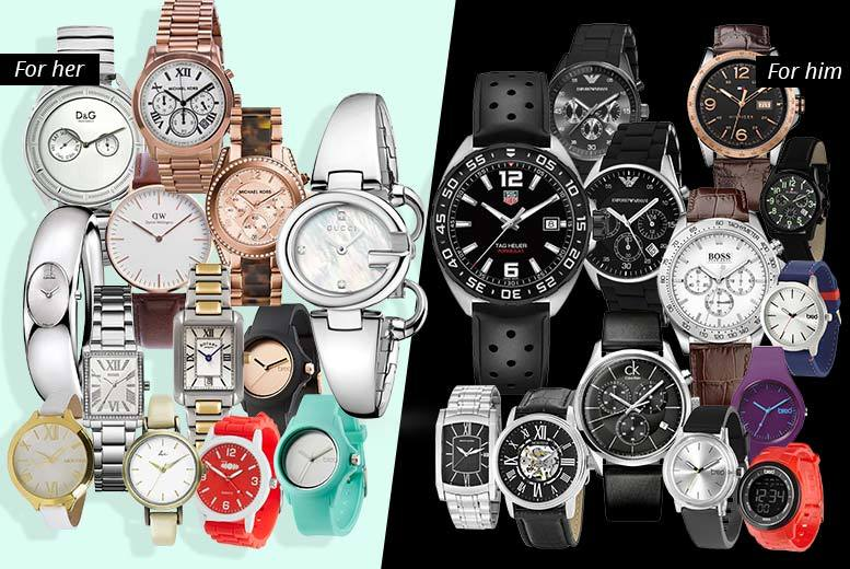Mystery Watch Deal - Tag Heuer, Gucci, MK, D&G, Breo & More!